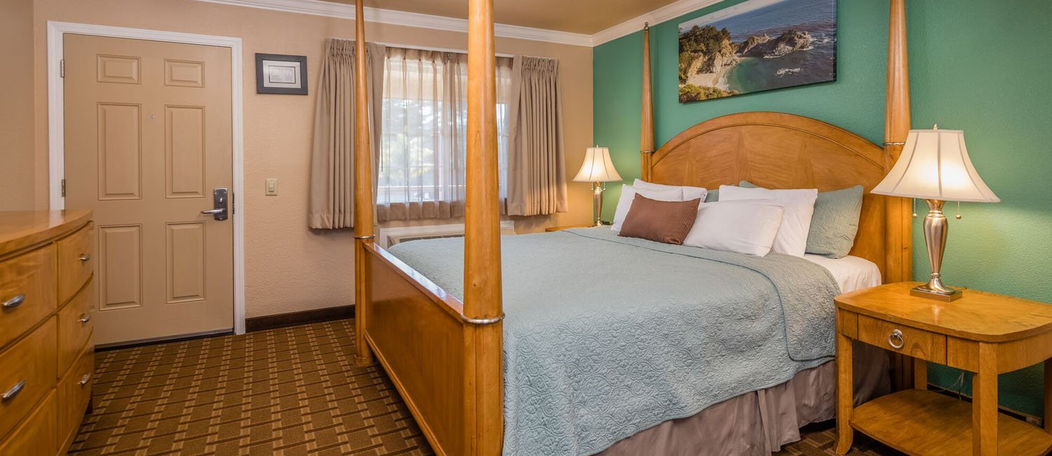 Boutique Hotel Rooms Near Downtown Monterey