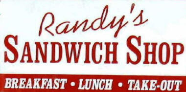 Randy's Sandwich Shop Logo
